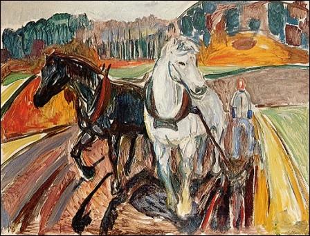 Qui a peint Paire de chevaux ?
