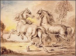 Qui a peint Deux chevaux dans la ville ?