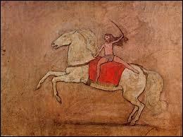 Qui a peint Amazone à cheval ?