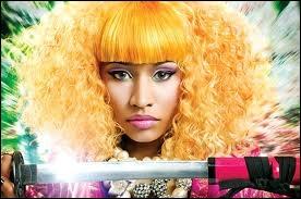 Nicki était tout en...
