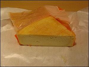 Celui-ci vous est également proposé, c'est un fromage avesnois :