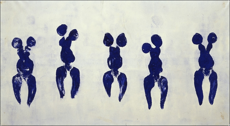 Untitled Anthropometry (ANT 82), 1960
