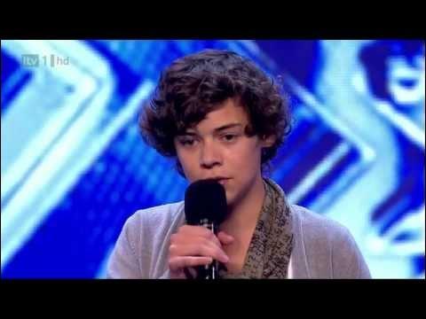 Quel était le numéro d'Harry à X-Factor ?