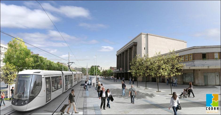 Décembre : Après deux ans de travaux, cette ville va faire peau neuve et inaugurer un tramway flambant neuf le 12/12/12. Quelques stations : La Plage, Caucriauville et Mont-Gaillard.