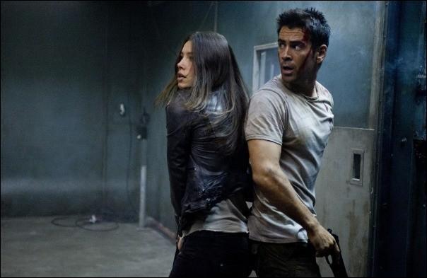 Dans quel film voyez-vous ce couple réunissant Colin Farrell et Jessica Biel ?