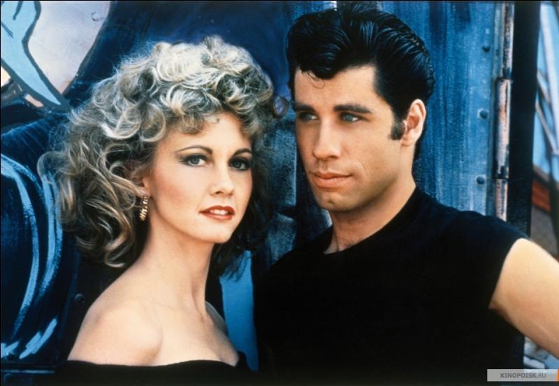 Dans quel film voyez-vous ce couple réunissant John Travolta et Olivia Newton-John ?