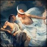 Les Grecs disaient qu'à chaque éclipse de lune, Séléné (la Lune) allait :