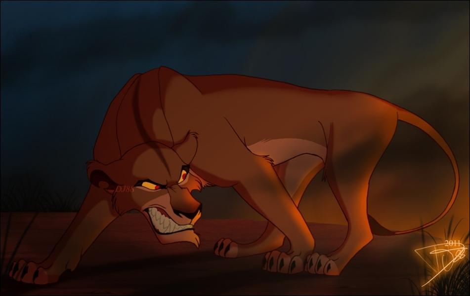 Le Roi lion 2 - La fille de Nala et Simba : Kiara est amoureuse de Kovu, un hors la loi dont la mère est
