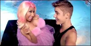 Quelle est la chanson de ce clip chantée par Justin Bieber et Nicki Minaj ?