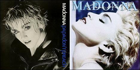 En quelle année sont sortis les tubes de l'album ''True Blue'' de Madonna ?