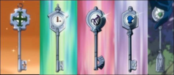 Comment se nomment ces clefs ?