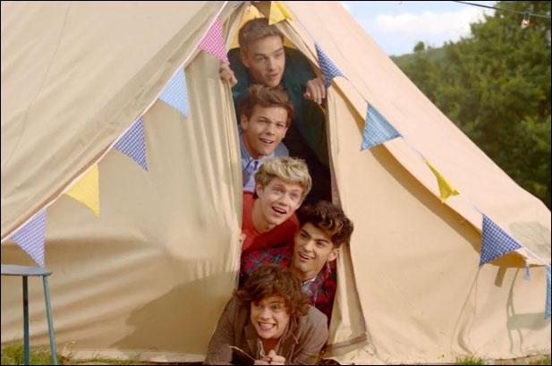 Quelle chanson n'est pas des One Direction ?