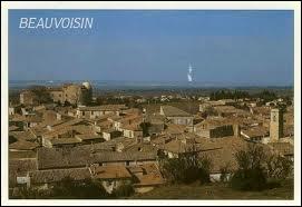 Les habitants de Beauvoisin sont les ...