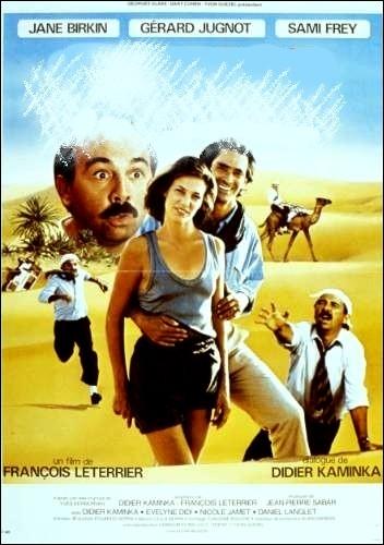 Comédie française distrayante de François Leterrier (1984) avec Jane Birkin, Gérard Jugnot, Samy frey ... .