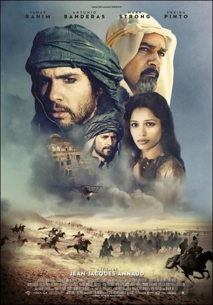 Film-fresque à grand spectacle réalisé par Jean-Jacques Annaud en 2011, avec Tahar Rahim, Mark Strong, Antonio Banderas ... .