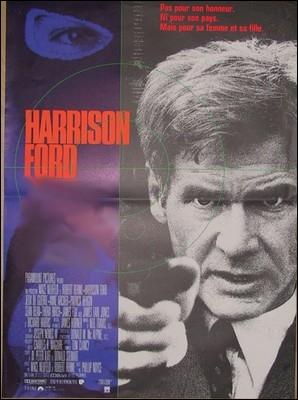 Film-suspense américain de Phillip Noyce (1992) au récit spectaculaire et rocambolesque, avec Harrisson Ford, Anne Archer, James Fox ... .