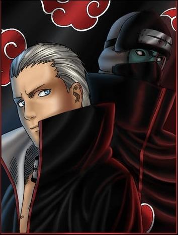 Qui sont ces 2 personnages dont l'un est immortel , de l'Akatsuki ?