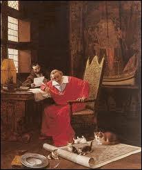 Combien Richelieu avait-il de chats ?