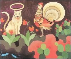 Complètez le titre de cette fable de La Fontaine :  Le cochet, le chat et ...