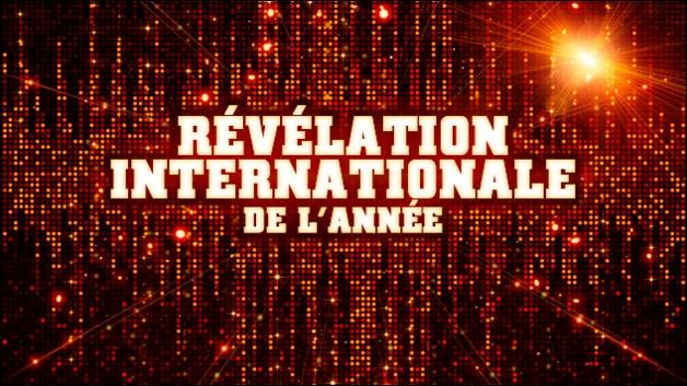 Qui est nominé dans la catégorie révélation internationale ?