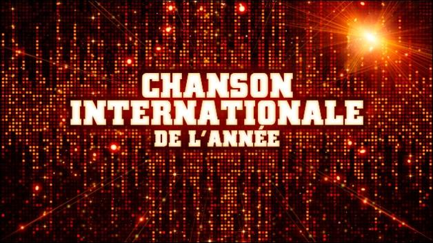 Qui est nominé dans la catégorie chanson internationale ?