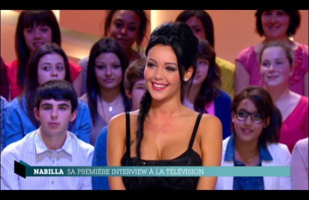 Nabilla est la première star de la téléréalité a avoir eu l'honneur d'être l'invitée-vedette de l'émission ...
