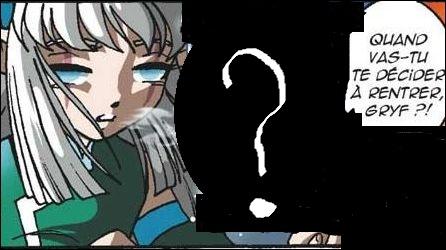 Jusqu'où va Shimy lorsqu'elle s'ennuie de Gryf dans le tome 15 ?