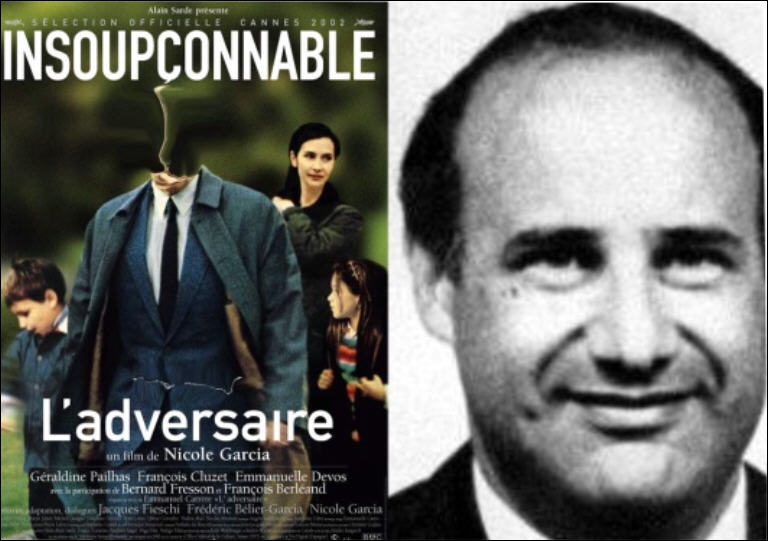 Dans le film L'adversaire, qui joue le rôle de Jean-Claude Romand, faux médecin qui s'était inventé une vie de mensonges et qui en 1993, assassina sa femme, ses enfants et ses parents, et tenta en vain de se suicider ?