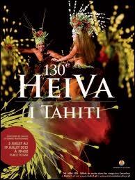 En Polynésie française, la traditionnelle fête du Heiva est une manifestation annuelle au cours de laquelle sont organisés des concours artistiques et sportifs. Elle a lieu au mois de …