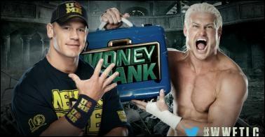 John Cena vs Dolph Ziggler : qui est le vainqueur pour le contrat Money in the Bank ? (Ladder Match)