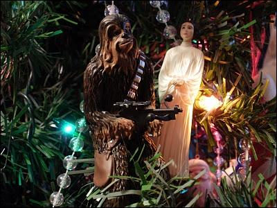 Voici une décoration de Noël cinématographique, car il s'agit de personnages de ?