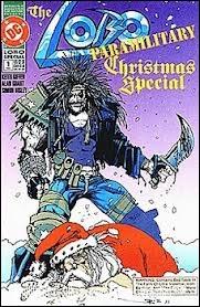 Eh oui, il y a même des numéros spéciaux Noël dans les BD, mais ici ce qui est très curieux, si vous regardez la couverture, c'est ?