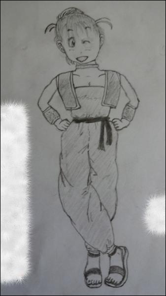 Dans Dragon Ball, qui est cette fille ayant hérité du talent de son père pour les sciences et la mécanique ?