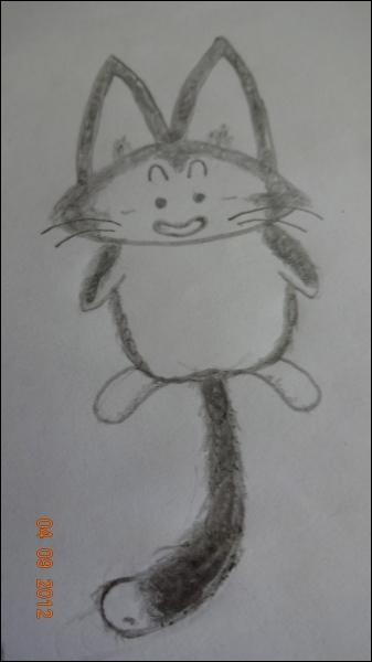 Dans Dragon Ball, qui est ce chat ayant le même pouvoir que le cochon mais pouvant également voler en sa forme initiale ?