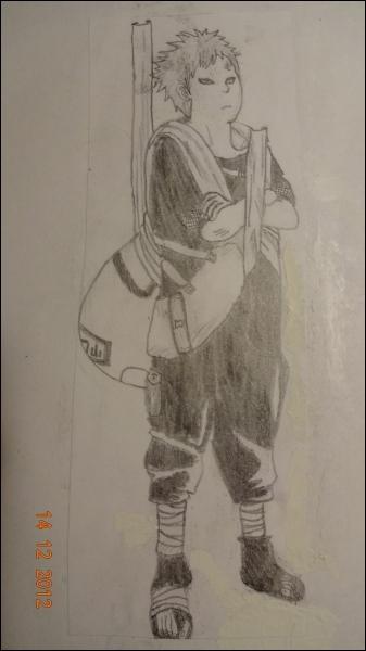 Dans Naruto, ce garçon manipule le sable à sa guise et en fait ce qu'il veut. Mais qui est cet étrange personnage ?
