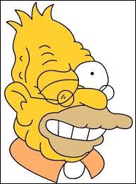 Comment s'appelle le papy de Bart, Lisa et Maggie ?