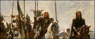 Combien d'hommes de l'Ouestfolde sont venus à Dunharrow dans le dernier volet de la trilogie ?