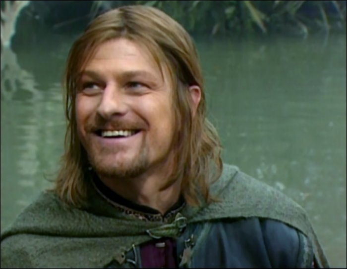 Quelle phrase n'a pas été prononcée par Boromir ?