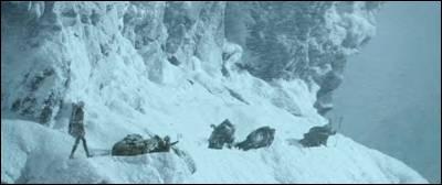 Qui a dit  Il essaie de déclencher une avalanche !   ?