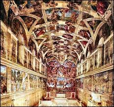 Qui a peint le plafond de la chapelle Sixtine ?