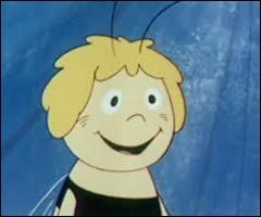 Quel insecte est le personnage de dessin animé appelé Maya ?