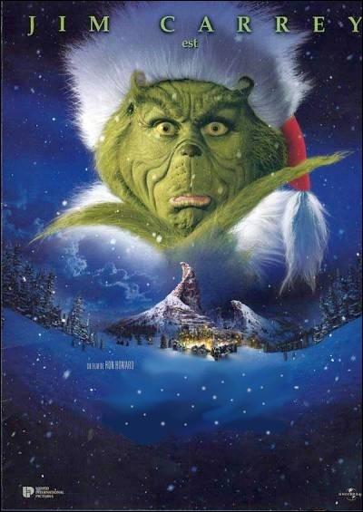 Conte de Noël déjanté et familial réalisé en 1999 par Ron Howard ( USA ) avec Jim Carrey, Taylor Momsen, Jeffrey Tambor ... .