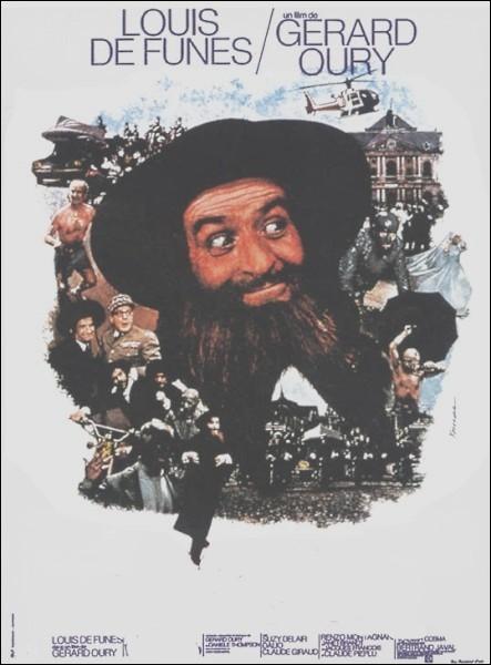 Un vibrant plaidoyer contre l'intolérance dans cette comédie tonique et drôle réalisée par Gérard Oury en 1973; avec Louis de Funès, Susy Delair, Marcel Dalio, Henri Guybet ... .