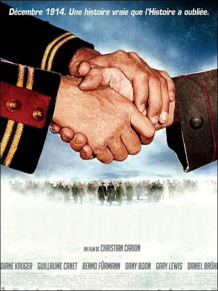 Un émouvant hymne à la fraternité qu'est ce film réalisé par Christian Carion en 2005, avec Diane Kruger, Dany Boon, Guillaume Canet ... .