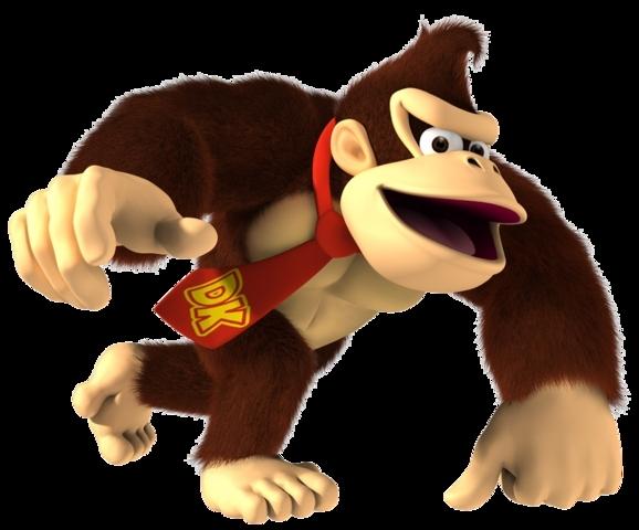 Le gorille qui aide les héros.
