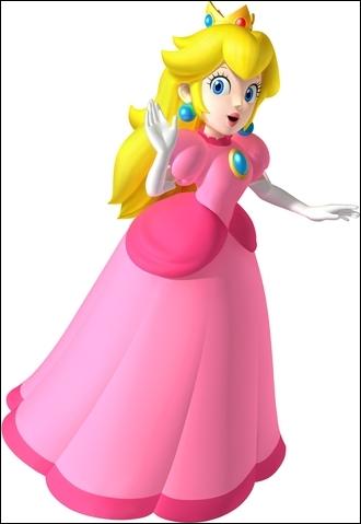 La princesse du royaume Champignon.