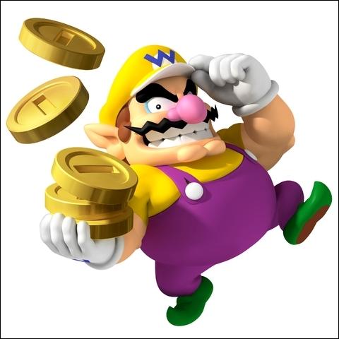 Le gros qui veut de l'argent.