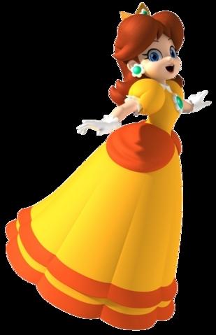 La princesse de Sarasaland.