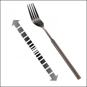 Je vous présente une fourchette indispensable à Noël pour tous les voleurs ! Qu'a-t-elle de spécial ?