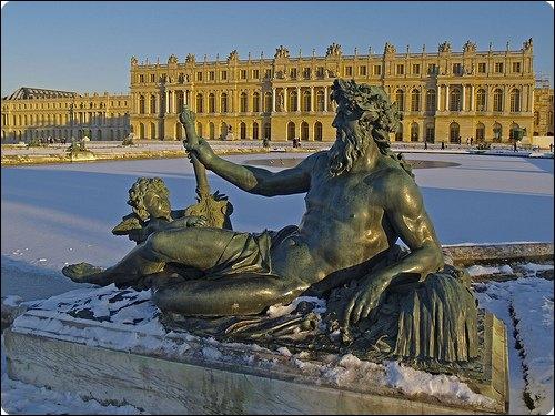 Jardins de Le Nôtre, résidence de Louis XIV, Louis XV et Louis XVI.